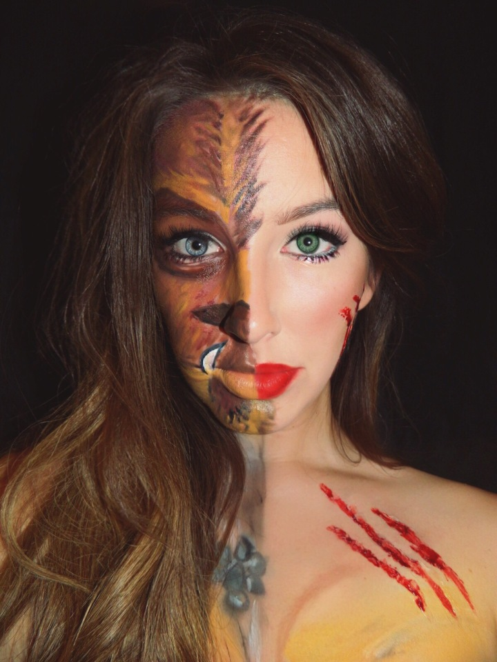 Halloween Makeup Transformations