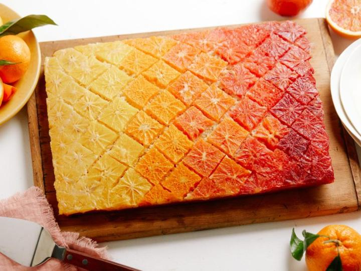 Ombre Citrus Cake Recipe
